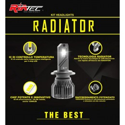 Kit Led Radiator H7 H18