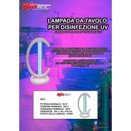 Lampada sanificatore casa UV