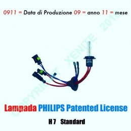 lampada Xeno in HB4 6000K 35W