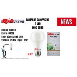 Lampada Lavoro 12W 12-80V...