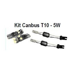 Kit completo T10 Led Cambus