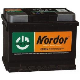 Nordor 12v 65Ah START & STOP