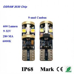 Lampade 9 Led Chip Osram...