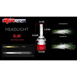 Kit Led SLIM H7 Cambus 6500k