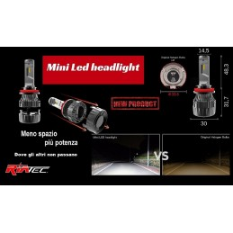 Kit Led MINI H4 Cambus 6500K